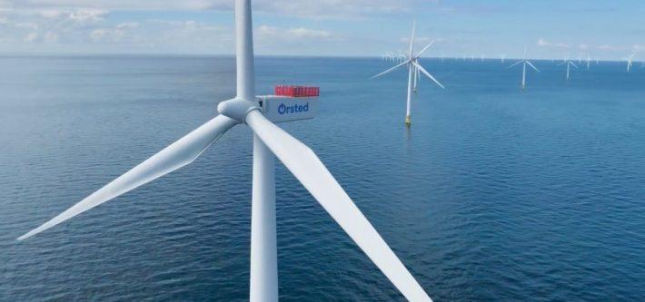 Ørsted wind turbines
